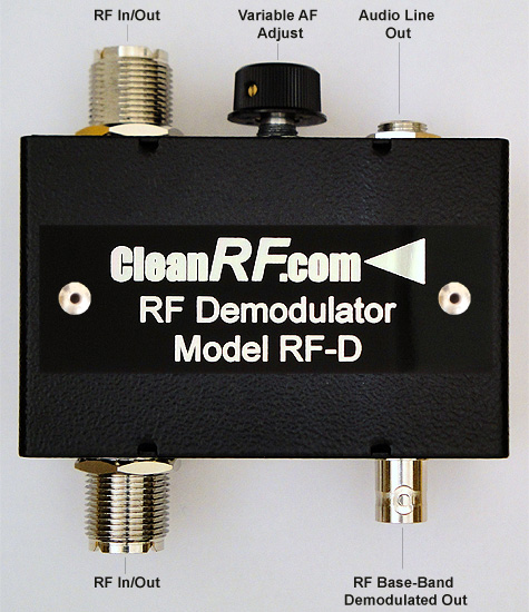 CleanRF Technologies RF-D RF-Demodulator