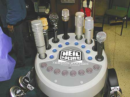 Heil Sound Microphone Display
