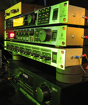 The NU9N Rack and Transmitter