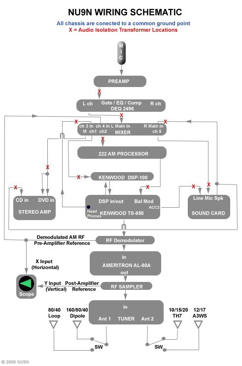NU9N Wiring Schematic