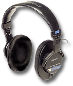 Sony MDR-7506 Closed-Type Headphones
